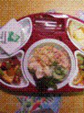 plateau repas du jour