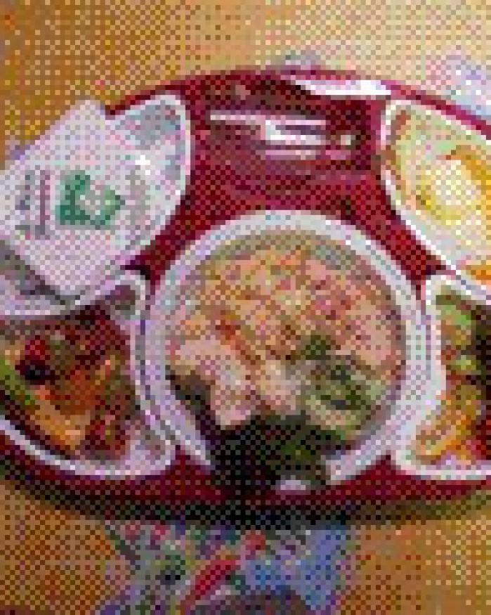 plateau repas classique