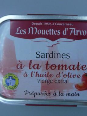 SARDINES A LA SAUCE TOMATE